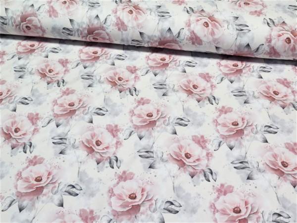 "Baumwolljersey ""roses"""