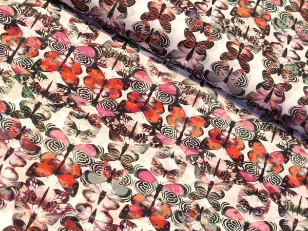 "Batist ""Butterfly"" pink"