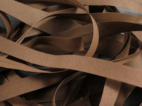 """Baumwoll-Schrägband 20mm """"melange"""""""