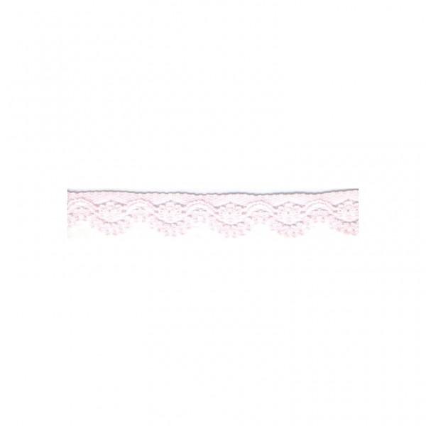 """Nylonspitze Flower 12mm """"rosa"""""""