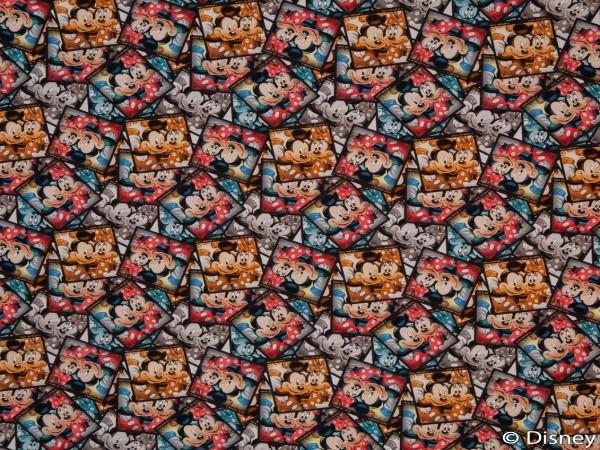 """Baumwolljersey """"Mickey&Minnie"""""""