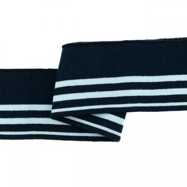 """Cuff Stripes """"navy/hellblau"""""""