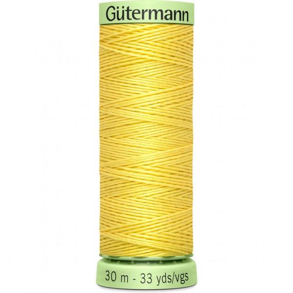 Knopflochgarn - Zierstichfaden - gelb