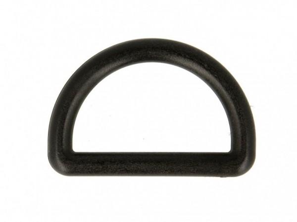 """D-Ring Kunststoff """"schwarz"""" 32mm"""