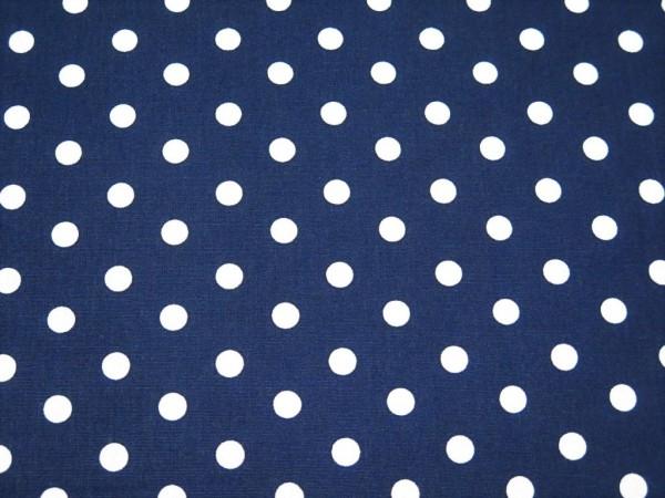 "Baumwollstoff ""Dots"" navy"
