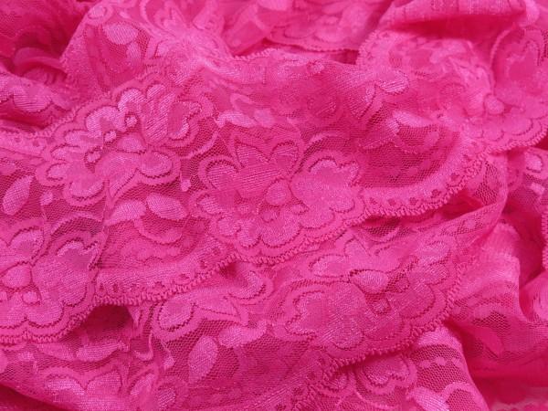 """Spitze Flower """" pink """" 9.5cm"""