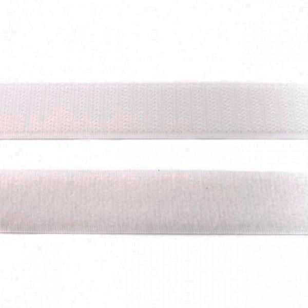 """Klettband Flausch 20mm """"weiss"""""""