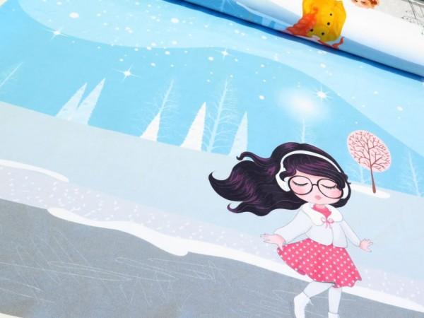 "Sommersweat Panel ""Winter Girls"""