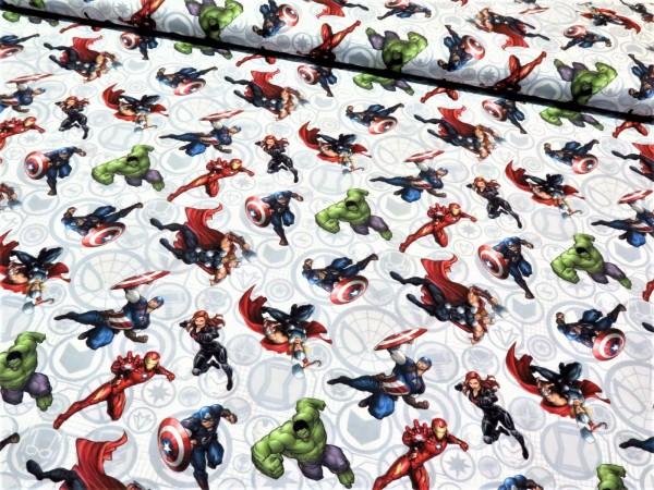 """Baumwollstoff """"Superhelden"""""""