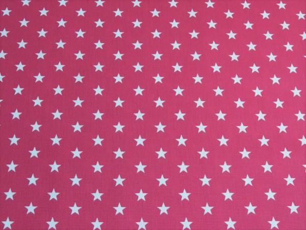 """Baumwollstoff """"Stars"""" pink"""