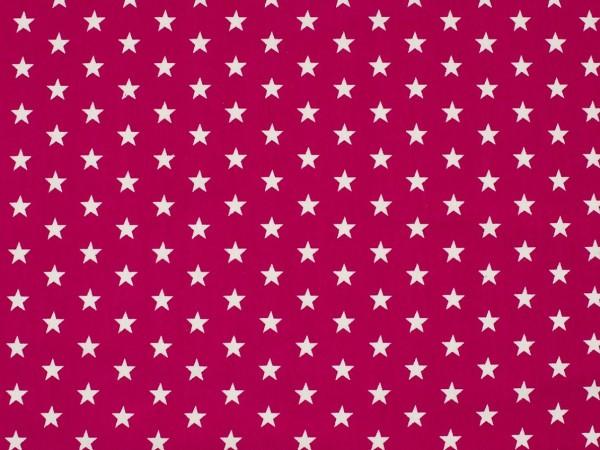"Baumwolljersey ""Sterne"" pink"