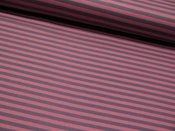 "Bio Interlock ""Stripes"" dusty rose"