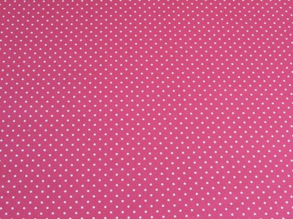 """Baumwollstoff """"mini Dots"""" pink"""