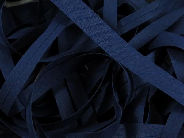 """Baumwoll-Schrägband 20mm """"navy"""""""