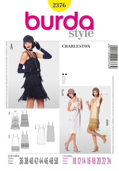 Charleston Kleid - 2376