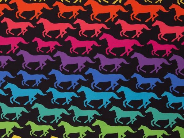 "Softshell ""Regenbogen Pferde"""