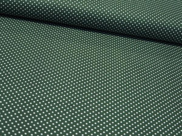"Baumwollstoff ""Dots"" grün"