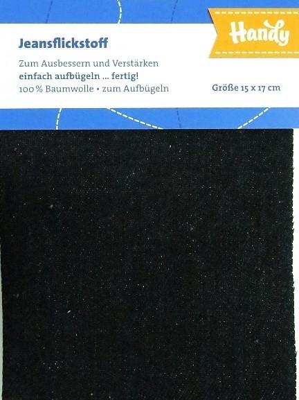 """Jeansflicken zum aufbügeln """"schwarz"""""""