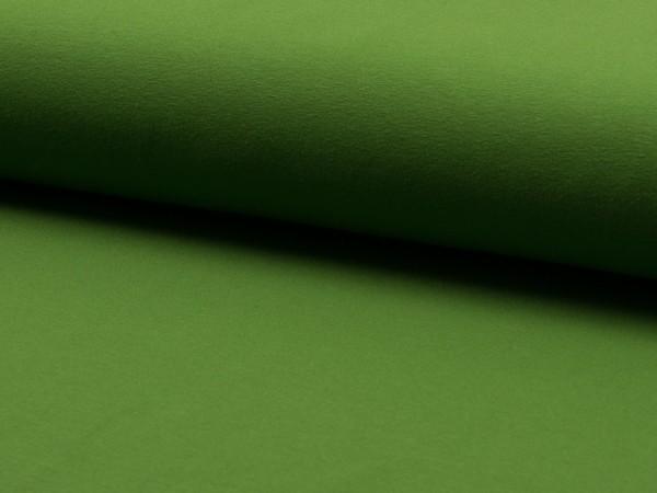 "Baumwolljersey ""grasgrün"""