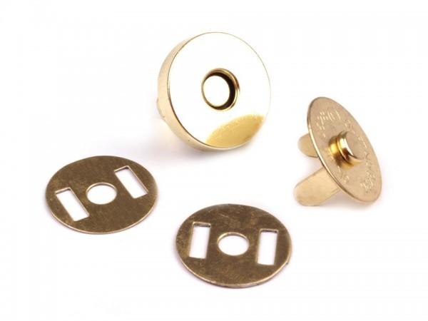 """Magnetverschluss """"gold"""" 14mm"""