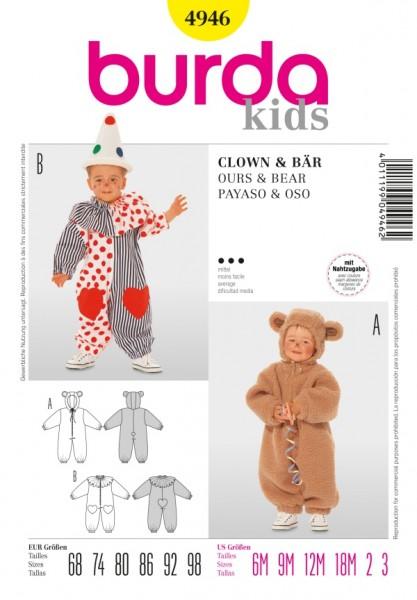 Clown + Bär - 4946
