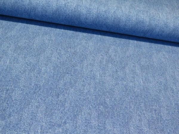 """Sommersweat BIO """"Denim"""" hellblau"""