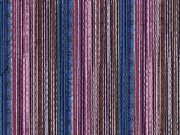 "Ethno Stripes ""lila-blau"""