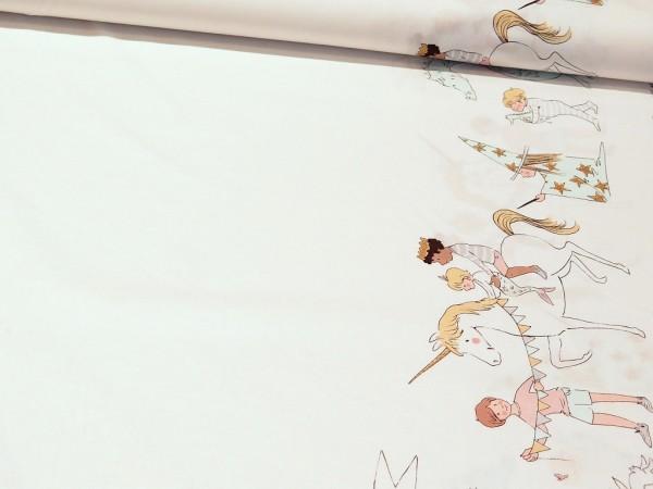 """Baumwolle """" Magical Parade """" Golddruck von Michael Miller"""