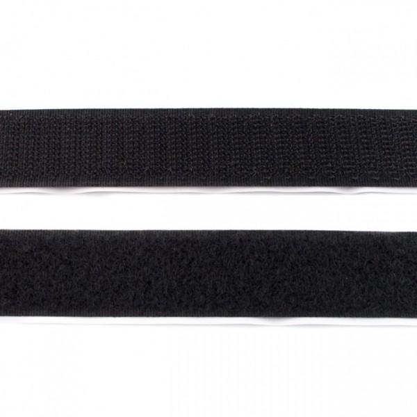 """Klettband zum kleben Flauschband 20mm """"schwarz"""""""