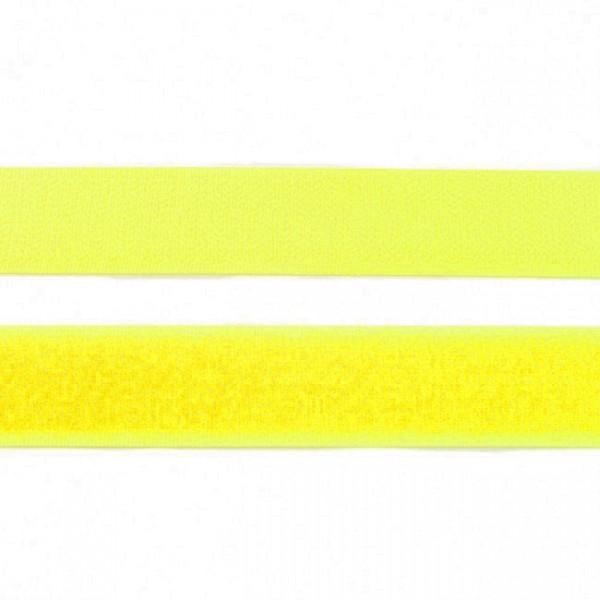 """Klettband 25mm """"gelb"""""""