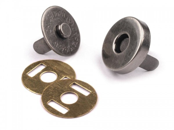 "Magnetverschluss ""nickel antik"" 14mm"