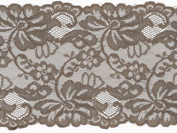 """Spitze Flower """"taupe"""" 15cm"""