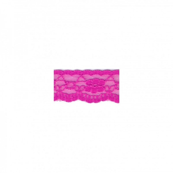 "Nylonspitze Flower 25mm ""pink"""