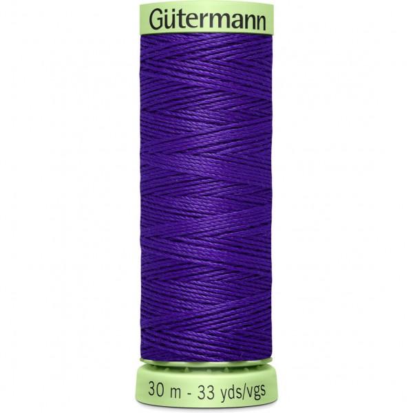 Knopflochgarn - Zierstichfaden - violett