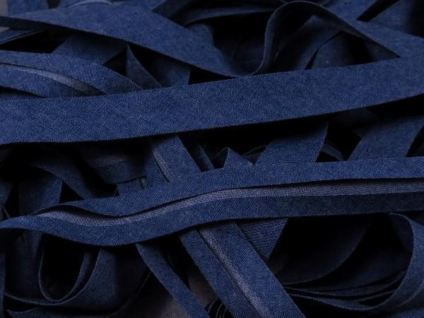 """Schrägband Jeans """"denim dunkel"""""""