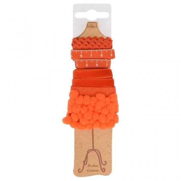 """Bänder Paket Schneiderpuppe """"orange"""""""