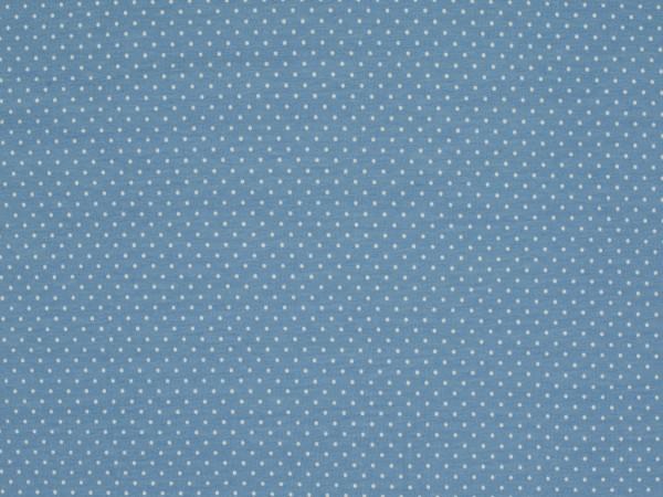 "Baumwolljersey ""Dots"" babyblau"