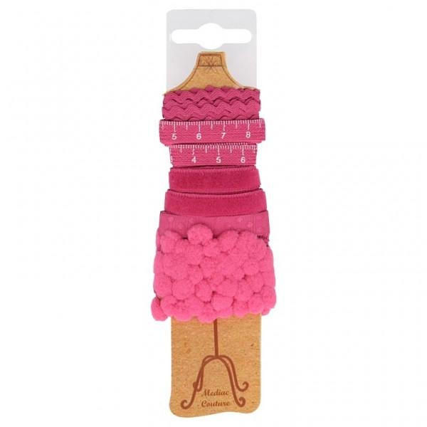 """Bänder Paket Schneiderpuppe """"pink"""""""