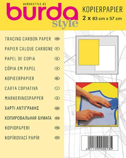 """Kopierpapier """"gelb/weiss"""""""