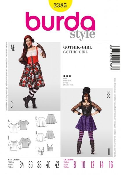 Pirat + Gothik Girl - 2385
