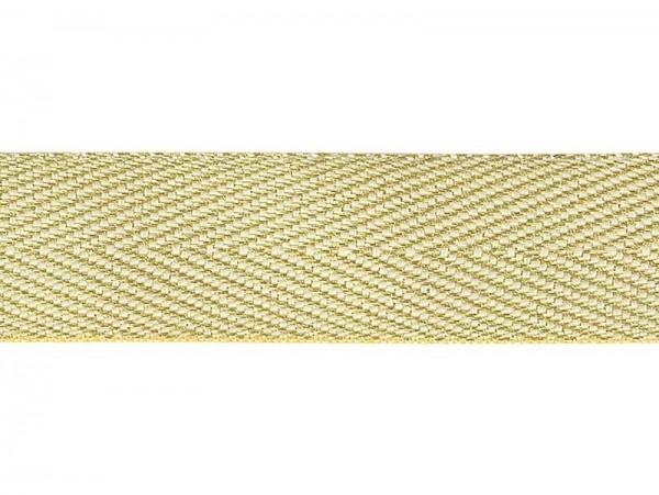 "Köperband ""gold"" 20mm"