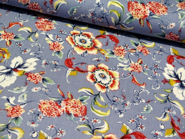 "Elastische Viskose ""Blumen"" jeans"