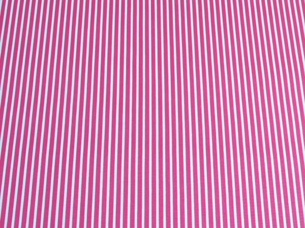 """Baumwollstoff """"Streifen"""" pink"""