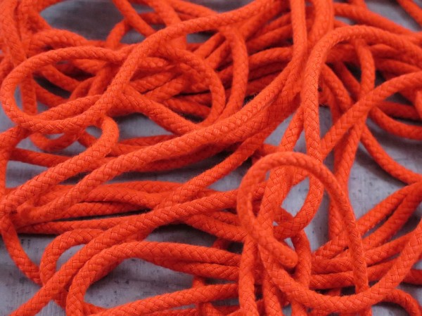 "Kordel 5mm ""orange"""